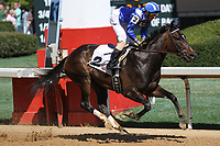 HOT SPRINGS, AR - March 18: Sameeha #2 breaks his maiden under jockey Joseph Rocco, Jr. for Shadwell Stable in the fifth race at Oaklawn Park on March 18, 2017 in Hot Springs, AR. (Photo by Ciara Bowen/Eclipse Sportswire/Getty Images)