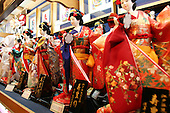 Mar 6, 2006; Tokyo, JPN; Asakusa.Japanese dolls for sale at a shop in Asakusa...Photo credit:  Darrell Miho