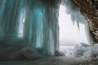 Grand Island Ice Caves, Munising, MI