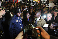 A Million Hoodies Trayvon Martin Vigil held in New York City