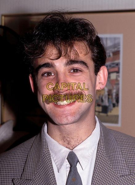 MICHAEL LE VELL.moustache.Ref: 026.www.capitalpictures.com.sales@capitalpictures.com.© Capital Pictures