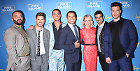 NEW YORK, NY April 20, 2017 , Justin Russo,Cheyenne Parker, Patrick McDonald,Mark Consuelos, Kelly Ripa, Brandon Osorio and Jorge Bustillos attend Logo's Fire Island Premiere Party  at Atlas Social Club  in New York April 20,  2017. Credit:RW/MediaPunch