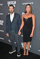 BEVERLY HILLS, CA. October 13, 2016: Tony Horton &amp; Shawna Brannon at the Los Angeles premiere of &quot;American Pastoral&quot; at The Academy's Samuel Goldwyn Theatre.<br /> Picture: Paul Smith/Featureflash/SilverHub 0208 004 5359/ 07711 972644 Editors@silverhubmedia.com