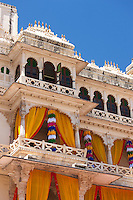 The Zenana Mahal of The City Palace of Maharana of Mewar, Shriji Arvind Singh Mewar of Udaipur, Rajasthan, India