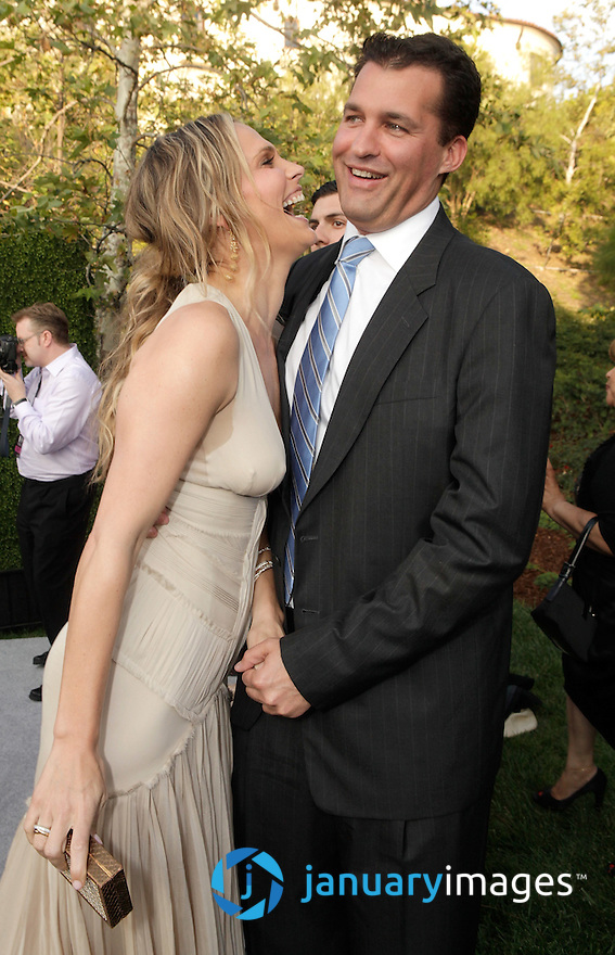 LOS ANGELES, CA - JUNE 11:  *** Exclusive Coverage *** Actress Molly Sims and fiance Producer Scott Stuber attend the 10th Annual Chrysalis Butterfly Ball on June 11, 2011 in Los Angeles, California.  (Photo by Todd Williamson/WireImage)