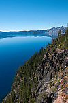 Crater Lake National Park, Oregon.Photo copyright Lee Foster.  Photo # oregon-crater-lake-oregon105786