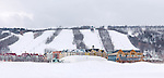 Blue Mountain alpine ski resort, Collingwood, Ontario, Canada