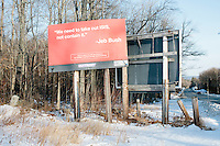 Jeb Bush - Billboard - Peterborough, NH - 7 Feb. 2016