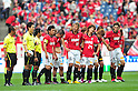 Urawa Reds team group, MAY 15th, 2011 - Football : Urawa Reds players look dejected after the 2011 J.League Division 1 match between Urawa Red Diamonds 1-1 Cerezo Osaka at Saitama Stadium 2002 in Saitama, Japan. (Photo by AFLO).
