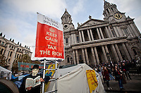 "12.11.2011 - Occupy LSX - ""NOT the Lord Mayor's Show"""