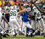 24 September 2006: Buffalo Bills quarterback J.P. Losman in action against the New York Jets at Ralph Wilson Stadium in Orchard Park, NY. The Jets defeated the Bills 28-20. Mandatory Photo Credit: Ed Wolfstein Photo