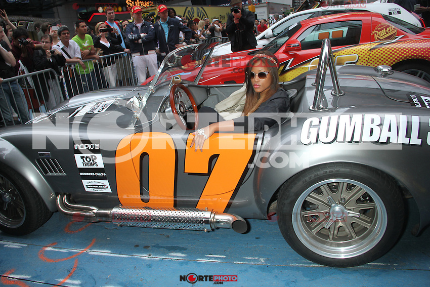 Eve at The Gumball 3000 Rally at Times Square in New York City. May 25, 2012. ©RW/MediaPunch Inc.