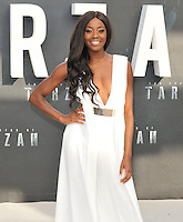 AJ Odudu at the &quot;The Legend of Tarzan&quot; European film premiere, Odeon Leicester Square, Leicester Square, London, England, UK, on Tuesday 05 July 2016.<br /> CAP/CAN<br /> &copy;Can Nguyen/Capital Pictures /MediaPunch ***NORTH AND SOUTH AMERICAS ONLY***