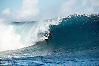 Namotu Island Resort, Nadi, Fiji (Tuesday, May 31 2016): Nikki Van Dijk (AUS) -The  2016 Fiji Women's Pro wrapped up today with Johanne Defay (FRA) defeating Carissa Moore (HAW) in the 35 minute final. Defay dominated the final heat and had Moore needing a combination score by the end. The swell was in the 4'-6' range all day with clean conditions early before  strong Trade winds came in the  making the waves a bit choppy. Photo: joliphotos.com