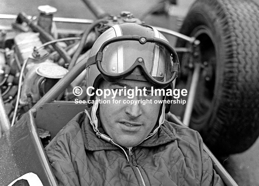 Joe Smyth, Ballymena, Co Antrim, N Ireland, racing driver, taken Kirkiston Track, Co Down. 196709000148<br /> <br /> Copyright Image from Victor Patterson, 54 Dorchester Park, Belfast, UK, BT9 6RJ<br /> <br /> Tel: +44 28 9066 1296<br /> Mob: +44 7802 353836<br /> Voicemail +44 20 8816 7153<br /> Email: victorpatterson@me.com<br /> Email: victorpatterson@gmail.com<br /> <br /> IMPORTANT: My Terms and Conditions of Business are at www.victorpatterson.com