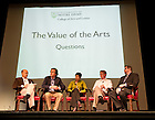 June 1, 2012; Reunion 2012: The Value of the Arts presentation and panel discussion in Washington Hall...Photo by Matt Cashore/University of Notre Dame