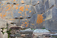 Inca ruins of Ollantaytambo in the Sacred Valley, Peru, South America.