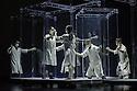 Yabin Studio & Eastman/Sidi Larbi Cherkaoui presents GENESIS, at Sadler's Wells. The dancers are: Yabin Wang, Li Chao, Kazutomi Kozuki, Elias Lazaridis, Johnny Lloyd, Fang Yin, Qing Wang. The musicians are: Manjunath B Chandramouli, Barbara Drazkowska, Kaspy Kusosa Kuyubuka, Woojae Park.