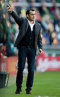 FUSSBALL   1. BUNDESLIGA   SAISON 2013/2014   7. SPIELTAG SV Werder Bremen - 1. FC Nuernberg                    29.09.2013 Trainer Robin Dutt (SV Werder Bremen)