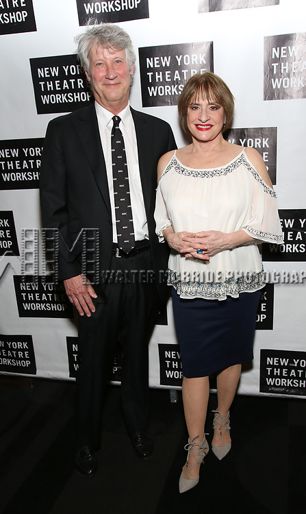 attends New York Theatre Workshop's 2017 Spring Gala at the Edison Ballroom on May 15, 2017 in New York City.