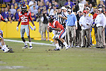 Ole Miss quarterback Barry Brunetti (11) vs. LSU at Tiger Stadium in Baton Rouge, La. on Saturday, November 17, 2012. LSU won 41-35.....