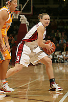 4 December 2005: Clare Bodensteiner during Stanford's 74-67 loss to Tennessee at Maples Pavilion in Stanford, CA.