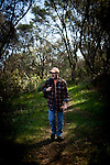 Hank Shaw forages in Orangevale, California, February 22, 2013.