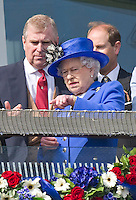 Queen Elizabeth II & Royals attend Epsom Derby