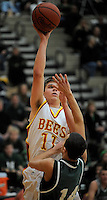 Westlake at Brecksville boys high school varsity basketball on February 10, 2012.