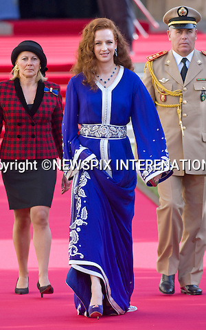 """PRINCESS LALLA SALMA OF MOROCCO.Religious Wedding Ceremony of HRH the Hereditary Grand Duke and Countess Stéphanie de Lannoy at Cathedral of Our lady of Luxembourg, Luxembourg_20-10-2012.Mandatory credit photo: ©Dias/NEWSPIX INTERNATIONAL..(Failure to credit will incur a surcharge of 100% of reproduction fees)..                **ALL FEES PAYABLE TO: """"NEWSPIX INTERNATIONAL""""**..IMMEDIATE CONFIRMATION OF USAGE REQUIRED:.Newspix International, 31 Chinnery Hill, Bishop's Stortford, ENGLAND CM23 3PS.Tel:+441279 324672  ; Fax: +441279656877.Mobile:  07775681153.e-mail: info@newspixinternational.co.uk"""