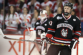 Josh Manson (NU - 3) - The visiting Northeastern University Huskies defeated the Boston University Terriers 6-5 on Friday, January 18, 2013, at Agganis Arena in Boston, Massachusetts.