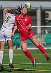29 September 2013: Stony Brook University Seawolves Forward Queli Ornelas, a Redshirt Junior from Palm Harbor, FL, in action against the University of Vermont Catamounts at Virtue Field in Burlington, Vermont. The Lady Seawolves defeated the Catamounts 2-1 in America East play. Mandatory Credit: Ed Wolfstein Photo *** RAW (NEF) Image File Available ***