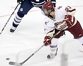 Steven Whitney (BC - 21) - The Boston College Eagles defeated the visiting University of Toronto Varsity Blues 8-0 in an exhibition game on Sunday afternoon, October 3, 2010, at Conte Forum in Chestnut Hill, MA.