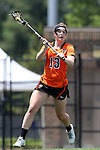 16 May 2015: Princeton's Erin Slifer. The Duke University Blue Devils hosted the Princeton University Tigers at Koskinen Stadium in Durham, North Carolina in a 2015 NCAA Division I Women's Lacrosse Tournament quarterfinal match. Duke won the game 7-3.