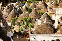 Trulli houses of Alberobello, Puglia, Italy.