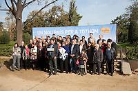 Spagna Barcellona  Elezioni all'assemblea catalana 25 Novembre 2012 Esquerra republicana de Catalunya partito politico nazionalista catalano il presidente Oriol Junqueras e i candidati
