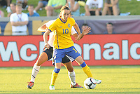 Kosovare Asllani...USWNT tied Sweden 1-1 at Morrison Stadium, Omaha Nebraska.