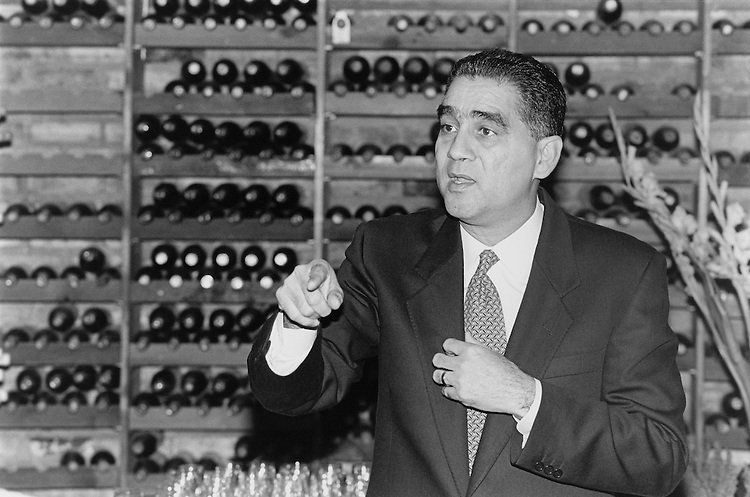 Ben Reyes speaking at his fundraiser. February 20, 1993 (Photo by Chris Martin/CQ Roll Call)