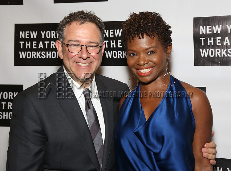 Michael Greif and LaChanze attends New York Theatre Workshop's 2017 Spring Gala at the Edison Ballroom on May 15, 2017 in New York City.