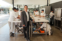 Javier Gonzales at his Culinary Art School in Tijuana...© Stefan Falke.http://www.stefanfalke.com/..