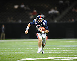 Ole Miss quarterback Bo Wallace (14) vs. Tulane in the first half at the Mercedes-Benz Superdone in New Orleans, La. on Saturday, September 22, 2012. Ole Miss won 39-0...
