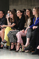 Victoria Pendleton, Olivia Palermo, Holly Grainger at the Unique show as part of London Fashion Week AW13, Tate Modern, London. 17/02/2013 Picture by: Henry Harris / Featureflash