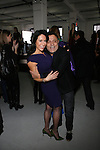 Joanne Blessinger and Elie Tahari  Attend Mercedes-Benz New York Fashion Week Autumn/Winter 2013 - Catherine Malandrino Presentation Held at Center 548, NY 2/10/13