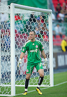 26 June 2010:  Toronto FC goalkeeper Stefan Frei #24 in action during a game between the Los Angeles Galaxy and the Toronto FC at BMO Field in Toronto..Final score was 0-0...