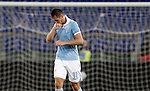 Calcio, Serie A: Lazio vs Palermo. Roma, stadio Olimpico, 2 settembre 2012..Lazio forward Miroslav Klose, of Germany, celebrates after scoring during the Italian Serie A football match between Lazio and Palermo at Rome's Olympic stadium, 2 September 2012..UPDATE IMAGES PRESS/Riccardo De Luca
