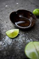 Don Fili's (Filiberto Saldaña's) Mezcal distillery. La Ruta del Mezcal, Mazatlan, Guerrero, Mexico.