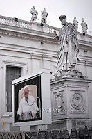Pope Francis  during his weekly general audience in St. Peter square at the Vatican, Wednesday.October 21, 2015.