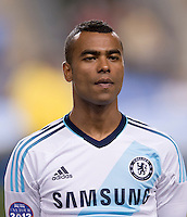 Ashley Cole.  The MLS All-Stars defeated Chelsea, 3-2.