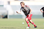 25 October 2012: Coach Christian Lavers. The United States Girl's Under-14 National Team (1988s) held a training camp at WakeMed Soccer Park in Cary, North Carolina.