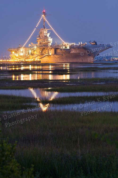 uss Yorktown Aircraft Carrier in Mt Pleasant Charleston South Carolina Tourist attraction
